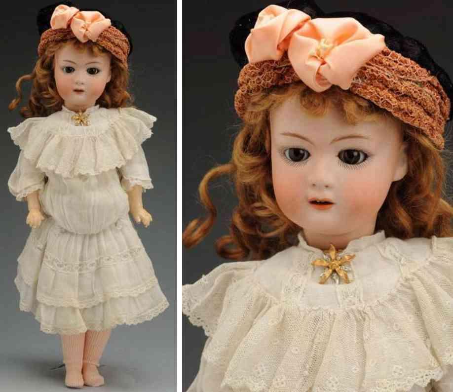 heubach gebr 8192 bisque socket head character doll