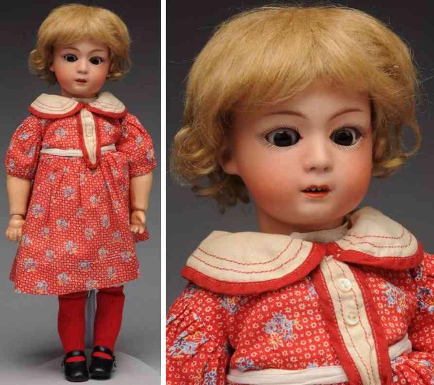 heubach gebr 8192 G1H bisque socket head child doll