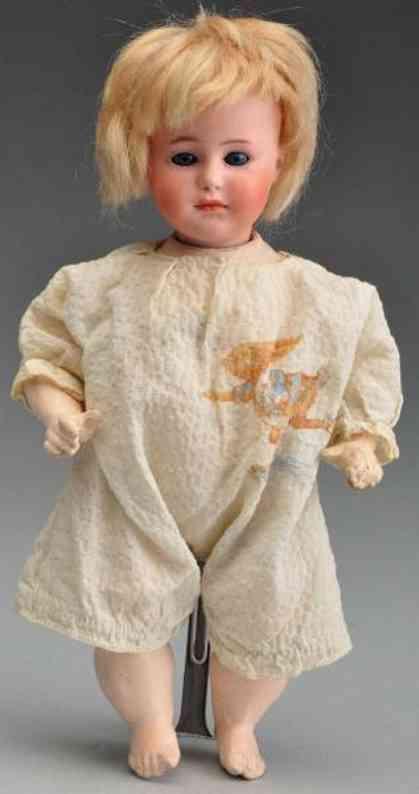 Heubach Gebr. 8420 Bisque socket head character doll