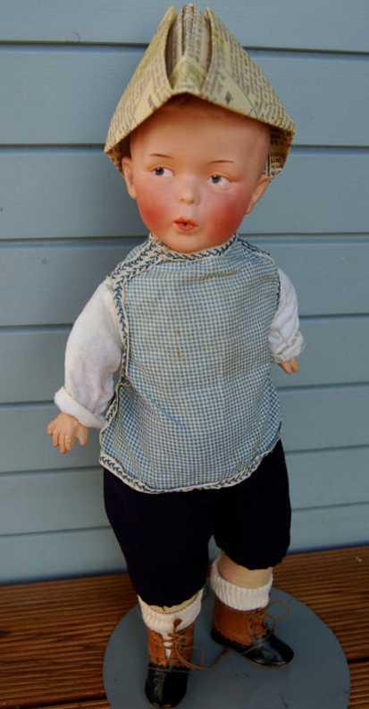 heubach gebr 8774 5 whistling jim boy doll