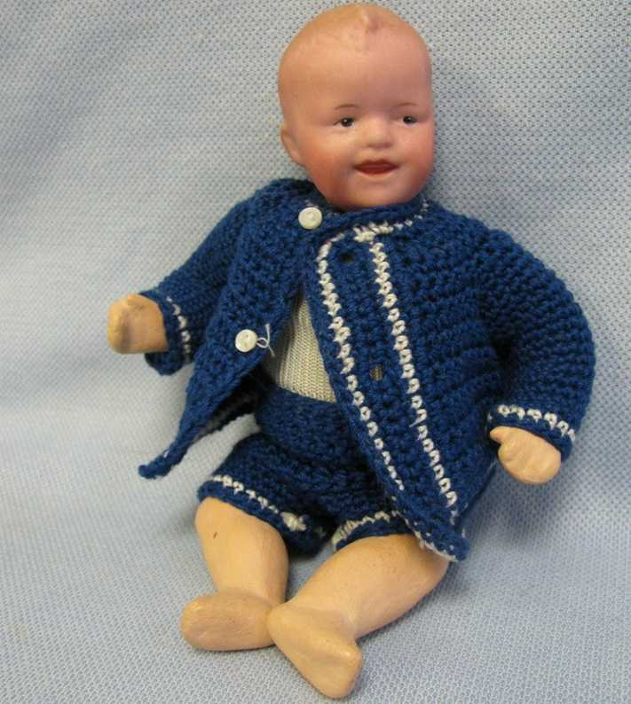 heubach gebr 9 0 16  laughing character baby doll