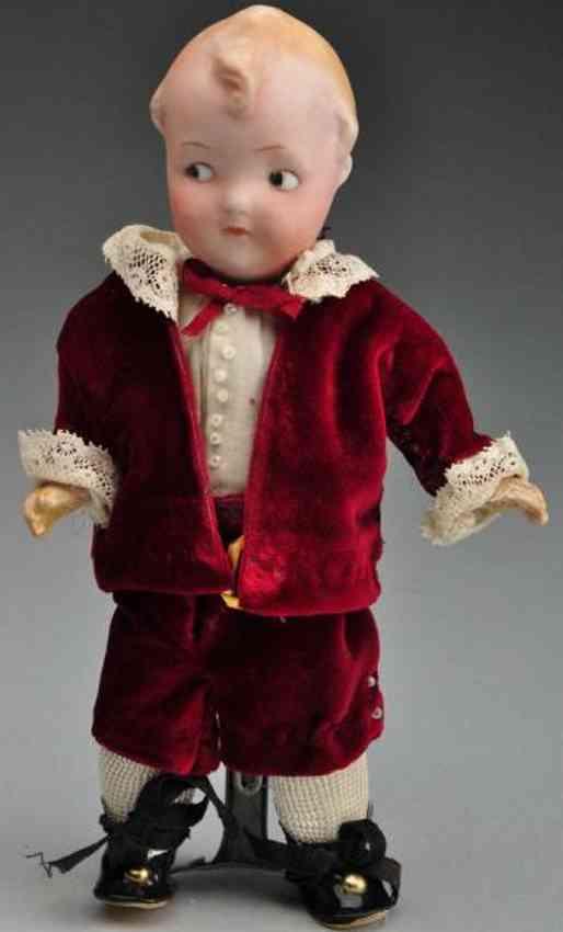 heubach gebr 9085 bisque socket head doll googly