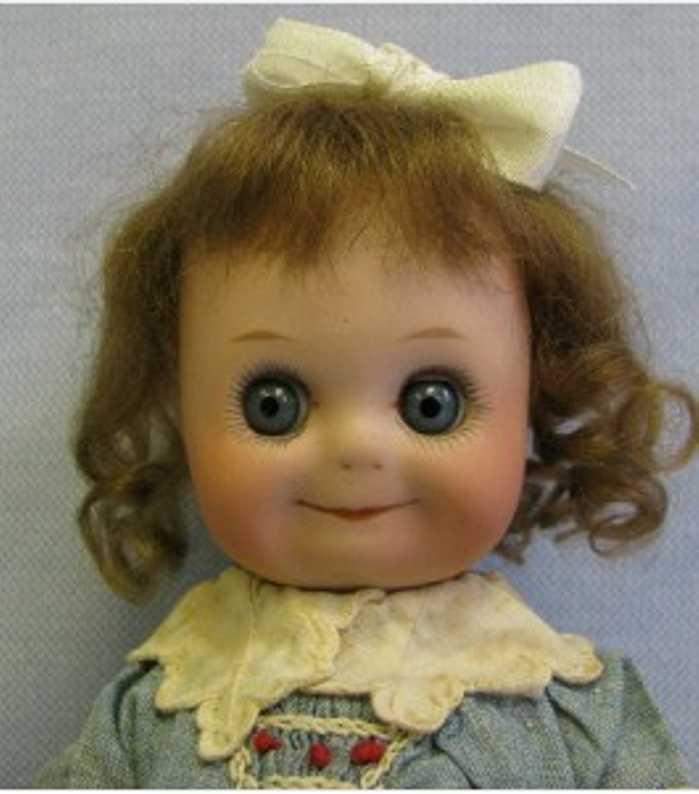 heubach gebr 9272 3/0  bisque googly  doll