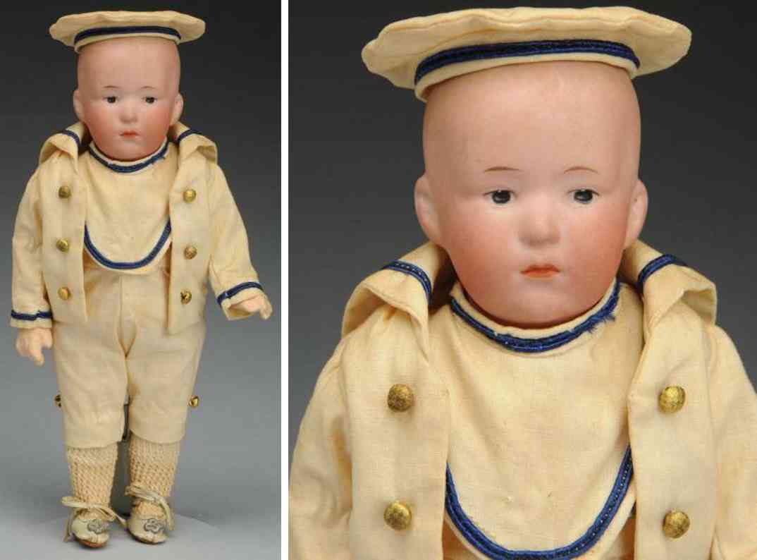 heubach gebr. D bisque socket head doll character child