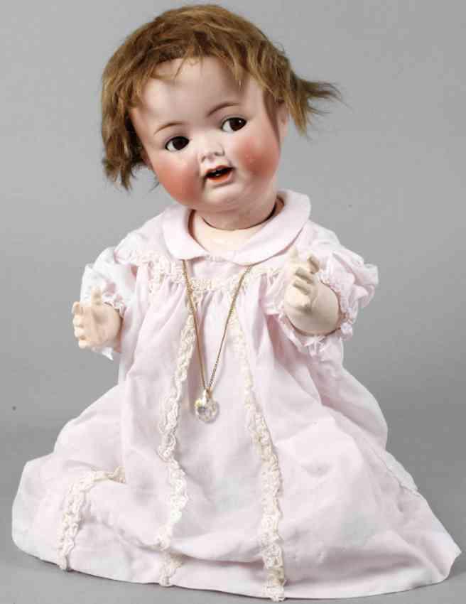 heubach ernst koppelsdorf 342 6 1/2 porcelain head doll