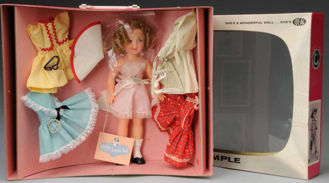 Ideal Toy Shirley Temple in TV Trousseau Schachtel