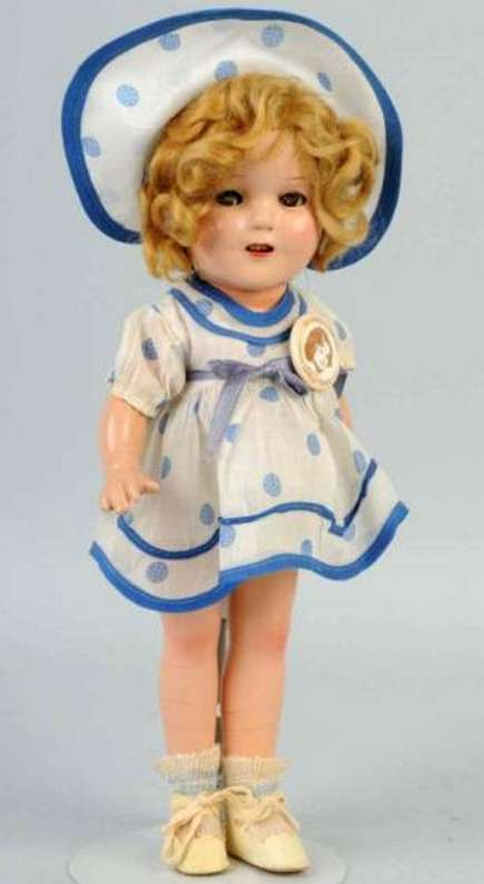 Ideal Toy Shirley Temple aus Masse