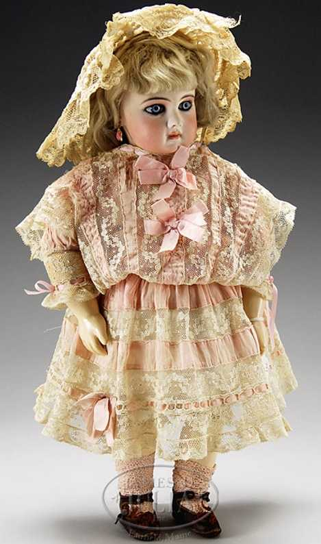 Jumeau 1 Puppe aus der frühesten Periode der Jumeau Portrait-Babys