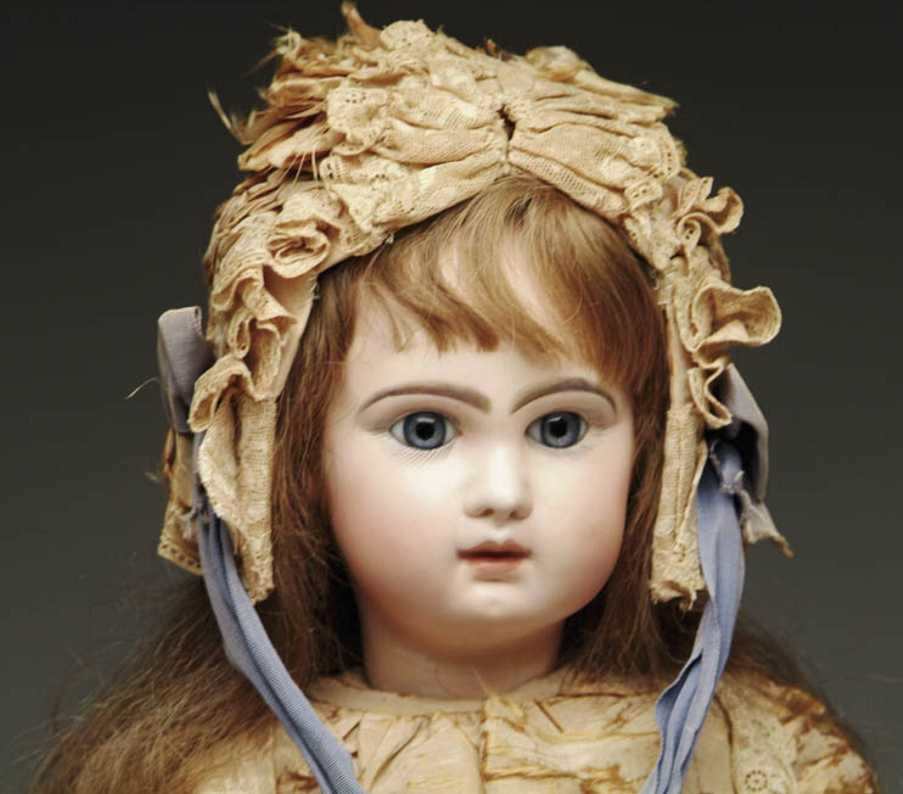 jumeau 13 closed mouth doll red stamp