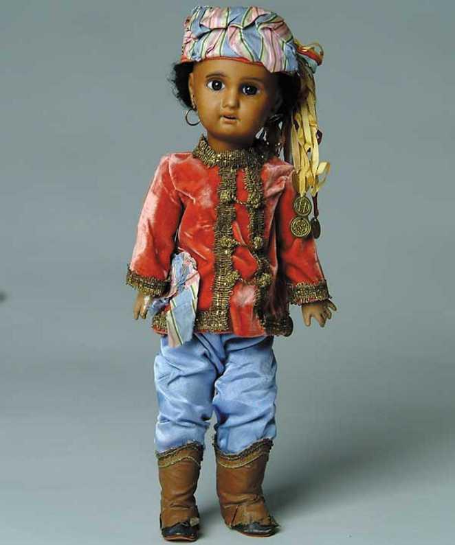 Jumeau 1907 Ethnische Puppe Mulatte