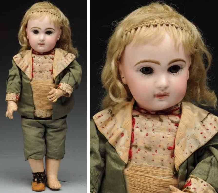 jumeau 6 bisque socket head bebe doll
