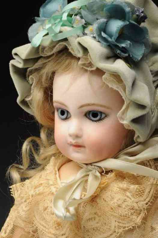 jumeau 6 bisque socket head baby doll