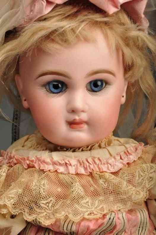 jumeau 7  bebe doll stamped red btesgdg7