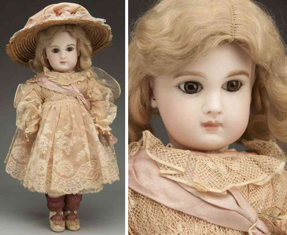 jumeau 7 bisque socekt head bebe baby doll