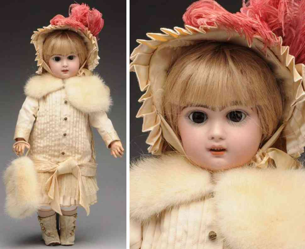 jumeau 8 bisque socket head bebe baby doll