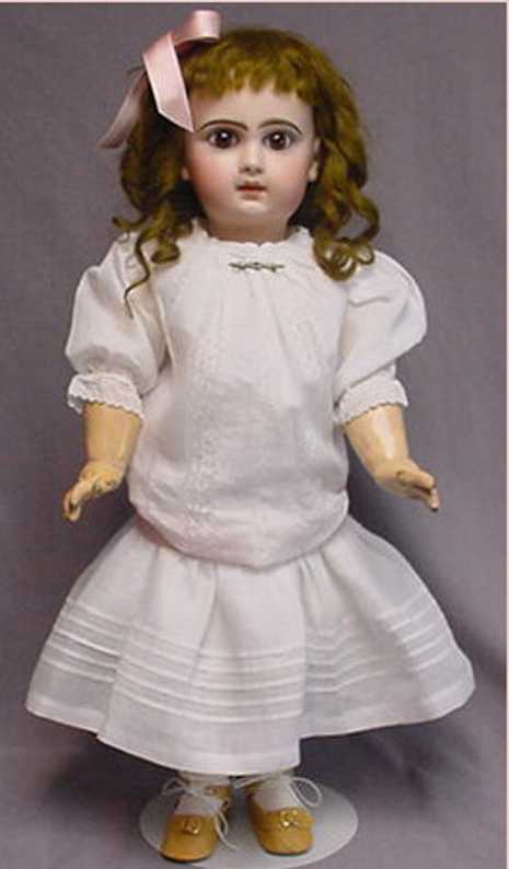 jumeau 9 bisque head child doll