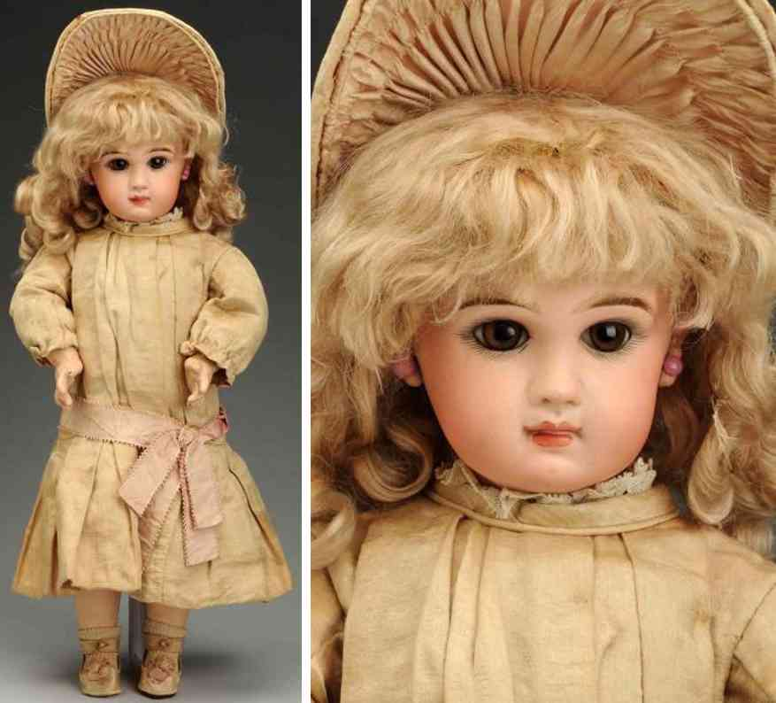 jumeau 9 bisque socket head bebe baby doll
