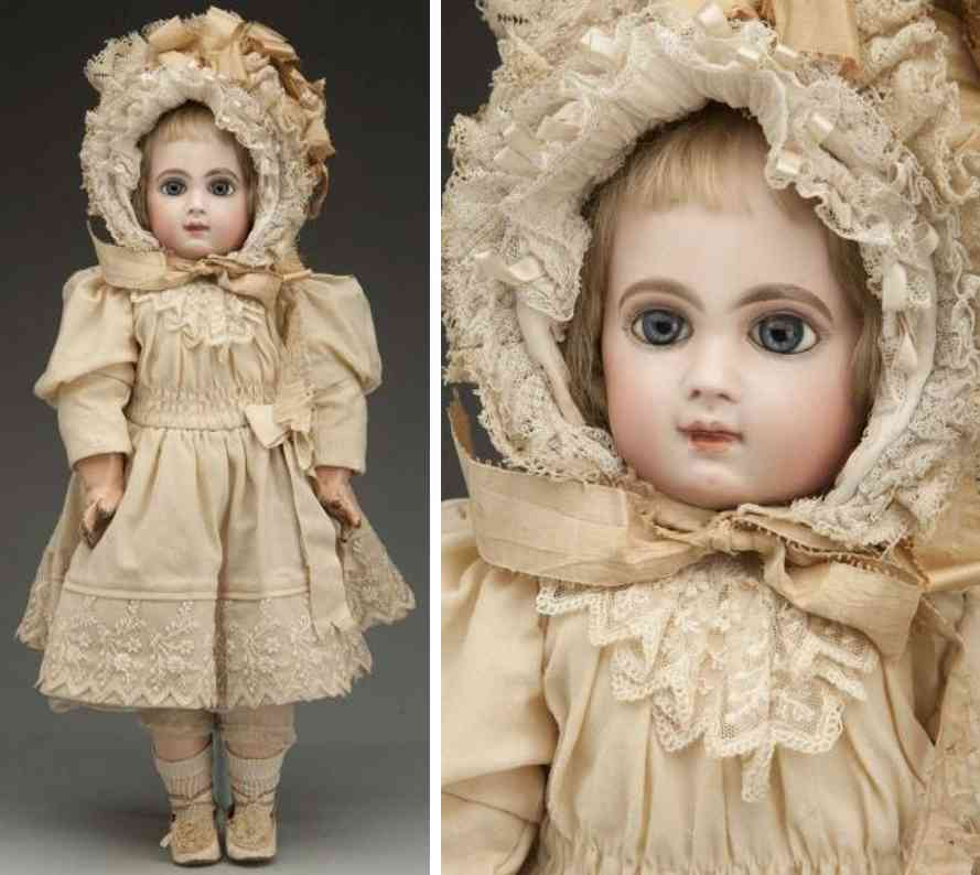 jumeau e 9 j bisque socekt head baby doll