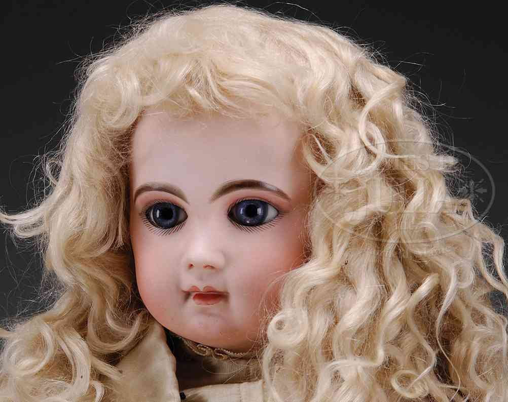 jumeau E11J (60) dolls early bebe on  a straight wrist wood and composition body wi