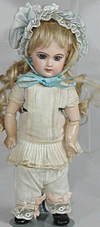 Jumeau E1J Depose Bisque socket head doll