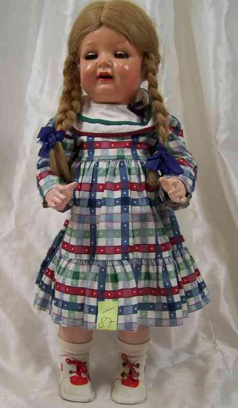 Kämmer & Reinhardt 11 8 Puppe komplett aus Mass