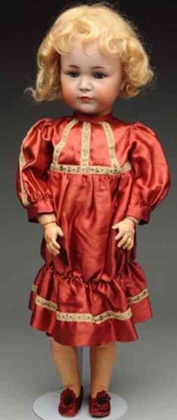 kaemmer & reinhardt 117 bisque socket head character doll
