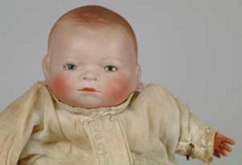 Kaemmer & Reinhardt 68 Bisque socket head doll