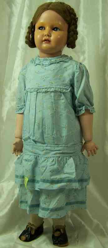 Kaemmer & Reinhardt 717/70 Celluloid head doll
