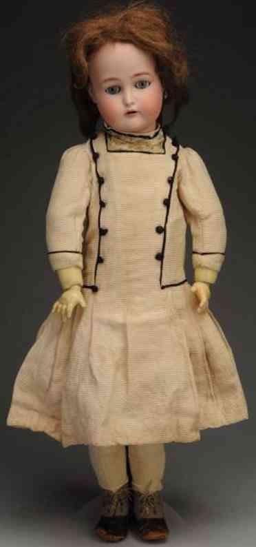 kaemmer & reinhardt 76 bisque socket head child doll