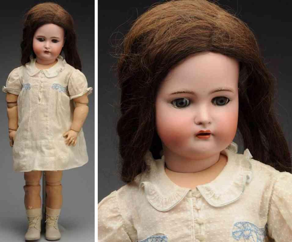 kaemmer & reinhardt 80 bisque socket head child doll