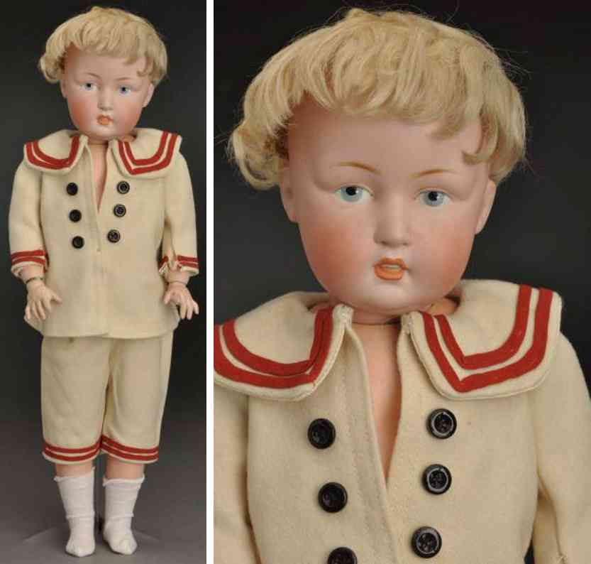 kestner j d 180 bisque socket head character child doll