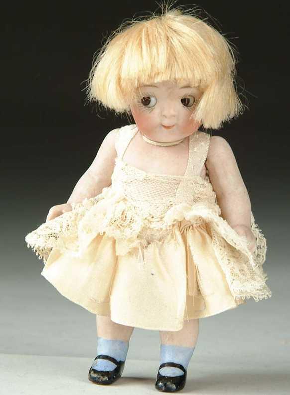 Kestner J. D. 189 5/0 Puppe Porzellan Googly