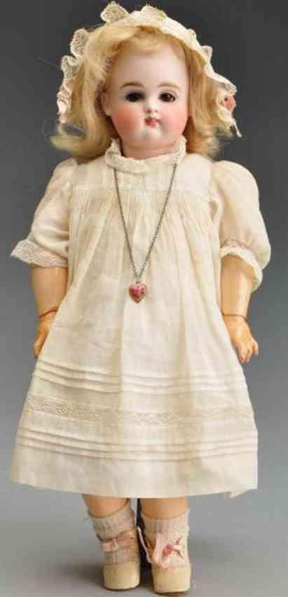 kestner jdk 6 bisque socket head doll