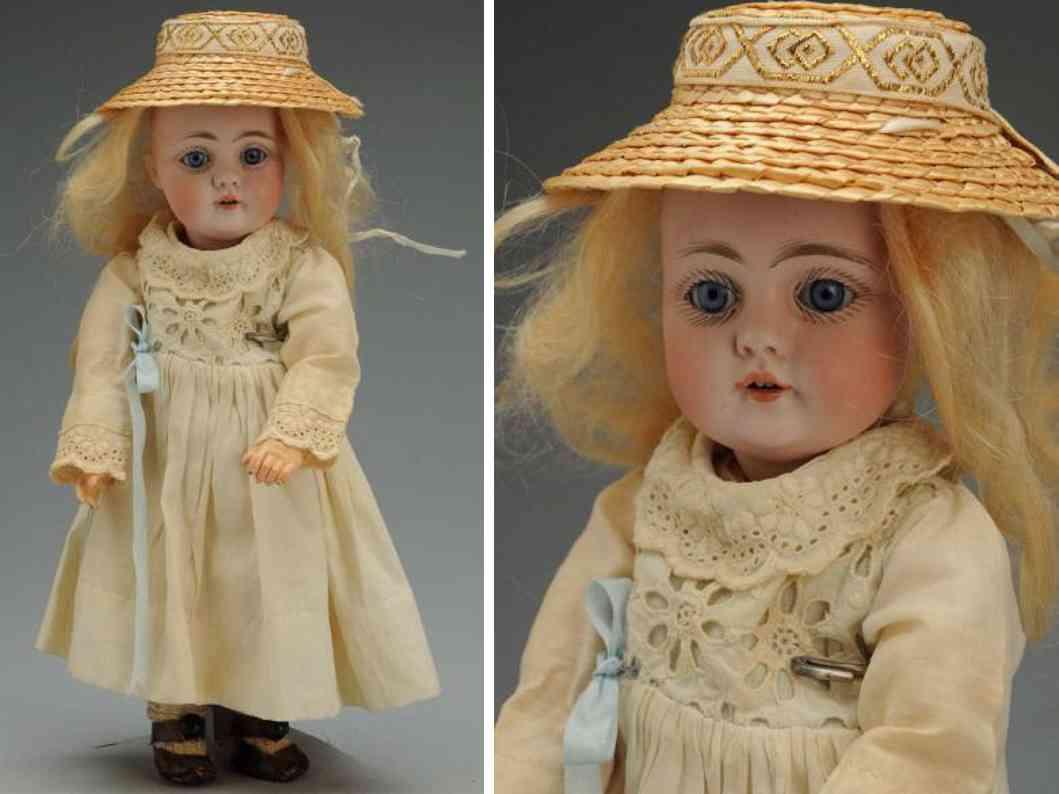 kestner jdk b 6 143 bisque socket head child doll