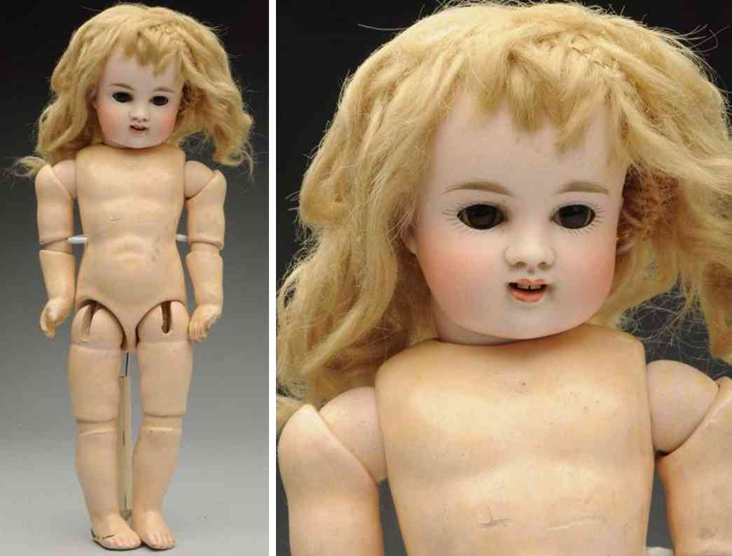 kestner jdk 6 bisque socket head child doll