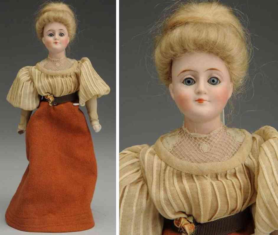 kestner jdk 6/0 172 bisque shoulder head gibson girl