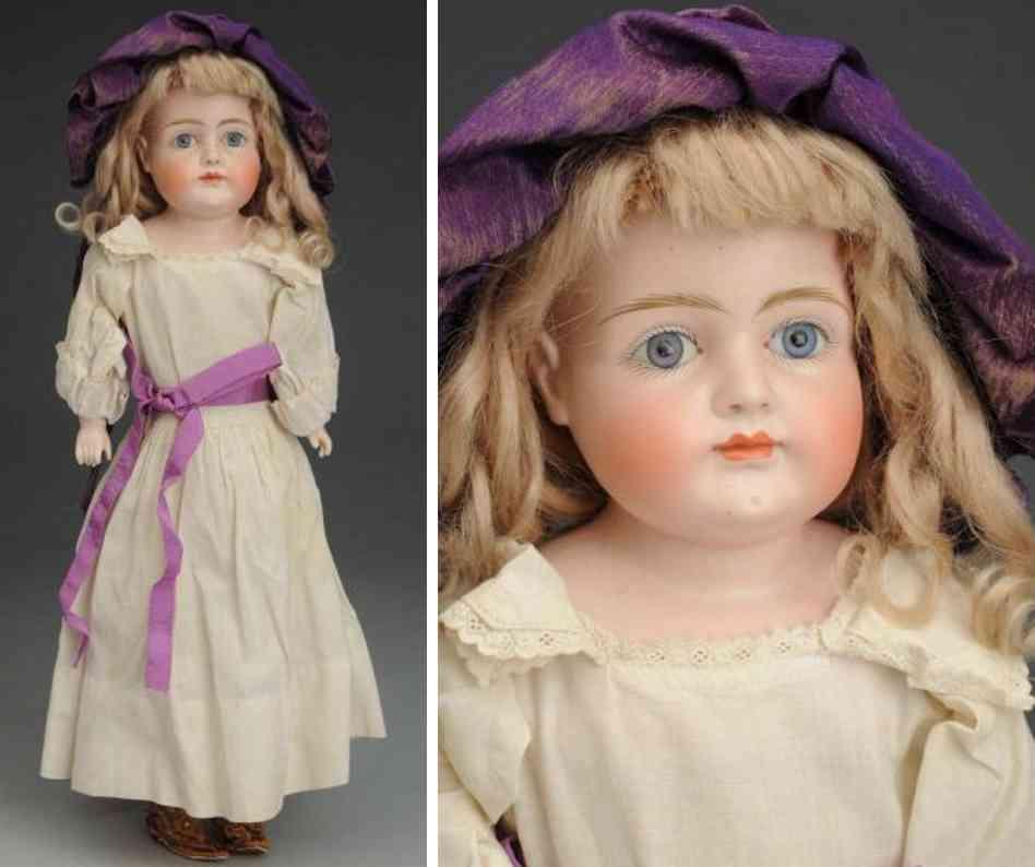 kestner jdk 7 bisque shoulder head child doll