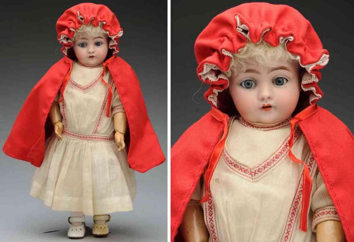 kestner jdk 7 143 bisque socket head character child doll