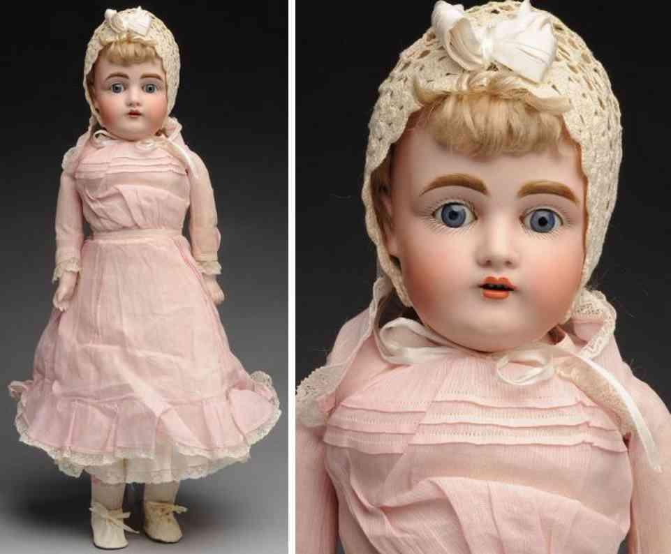 kestner jdk 9 154 bisque shoulder head child doll