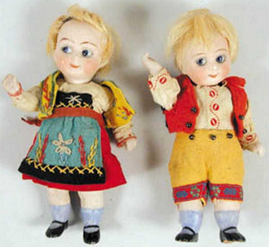 Kestner J. D. 292/10 Puppen  Googly Porzellanpuppen