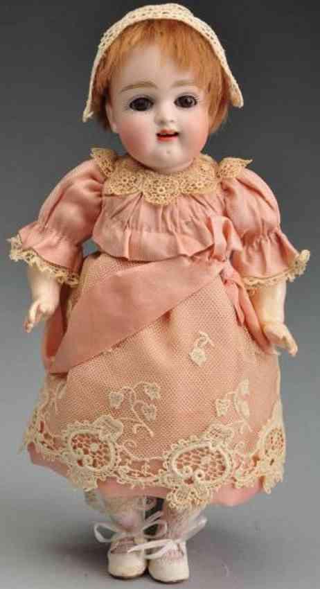 Kestner J. D. III Bisque socket head doll