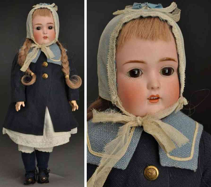 kestner j d B 1/2 6 1/2 171 bisque socket head child doll