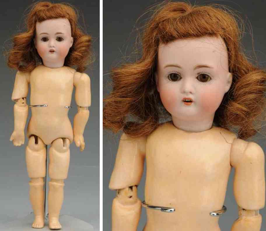 kestner jdk b 30174 bisque socket head child doll