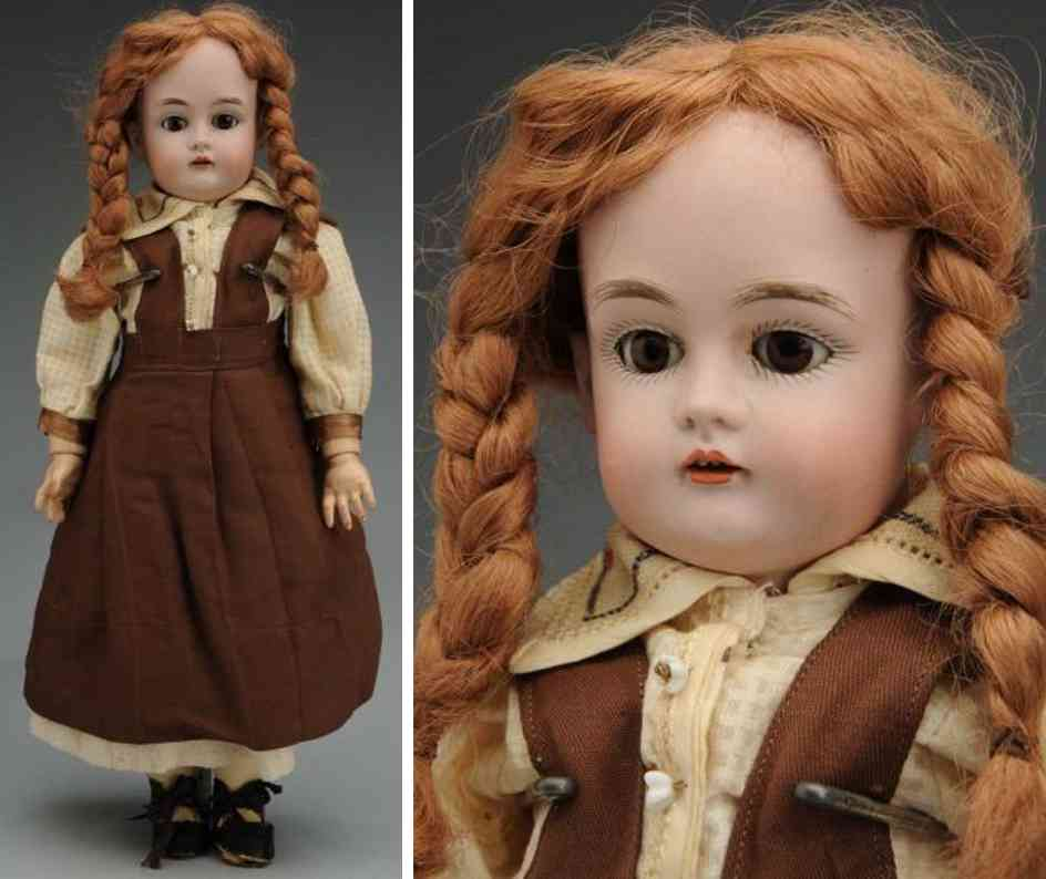 kestner jdk b 6 167 bisquet socket head child doll