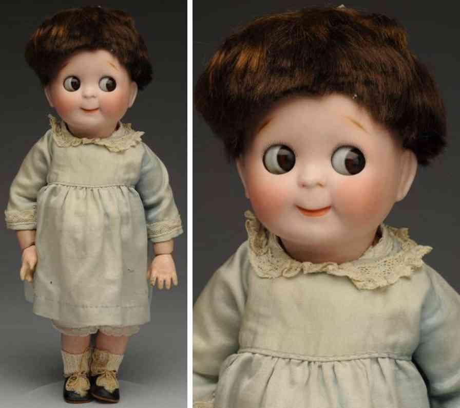 kestner jdk C 7 221 bisque socket head googly doll