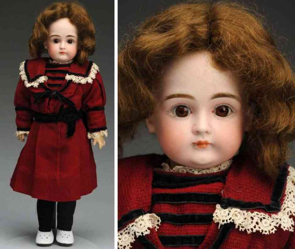 kestner jdk c 7 bisque socket head child doll