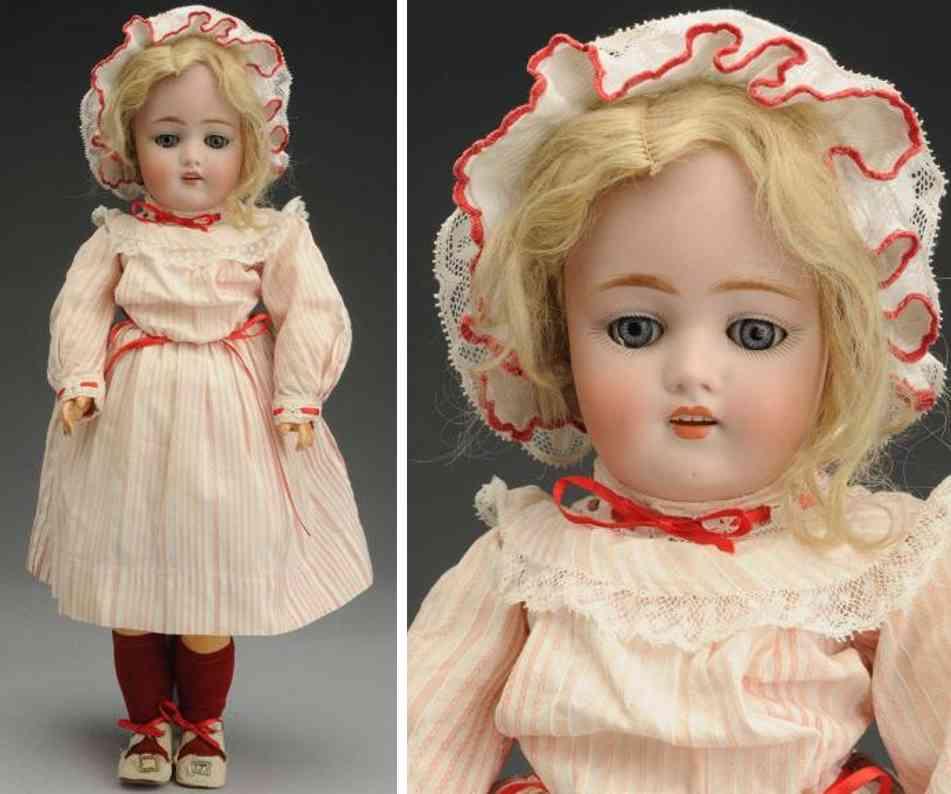 kestner jdk c 7 168 bisque socket head child doll