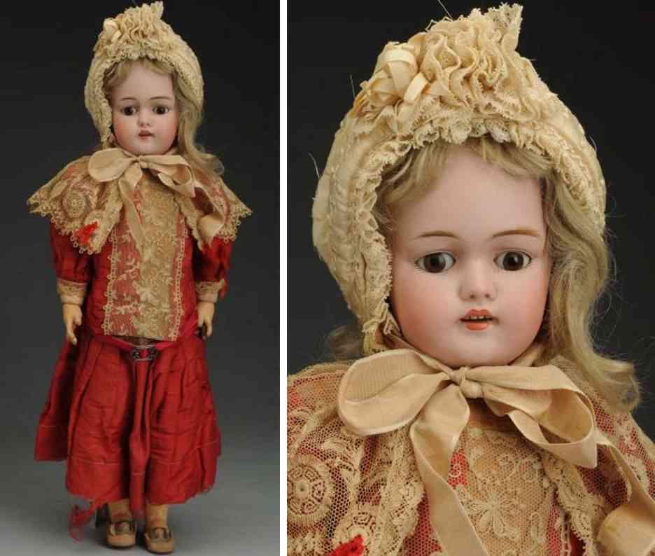 kestner jdk d 1/2 8 1/2 bisque socket head child doll