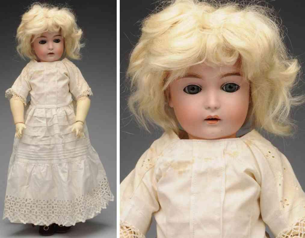kestner jdk e 1/2 9 1/2 171 bisque socket head child doll