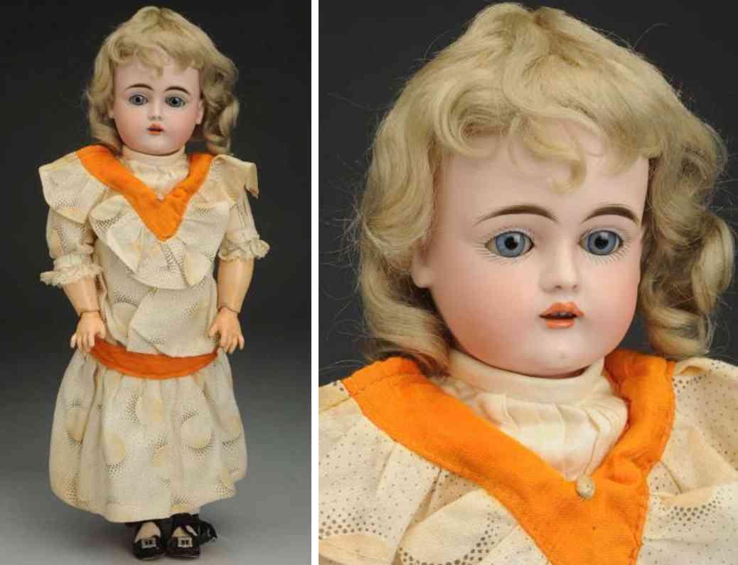 kestner jdk e 9 129 bisque socket head child doll